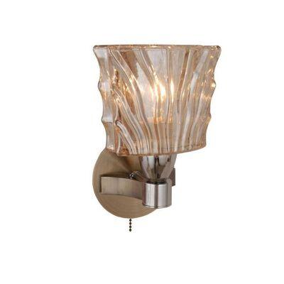 Citilux Муза CL141311 Светильник настенный браМодерн<br><br><br>S освещ. до, м2: 4<br>Крепление: настенное<br>Тип товара: Светильник настенный бра<br>Скидка, %: 34<br>Тип лампы: накаливания / энергосбережения / LED-светодиодная<br>Тип цоколя: E14<br>Количество ламп: 1<br>Ширина, мм: 120<br>MAX мощность ламп, Вт: 60<br>Расстояние от стены, мм: 120<br>Высота, мм: 190<br>Поверхность арматуры: глянцевый<br>Оттенок (цвет): бежевый<br>Цвет арматуры: бронзовый