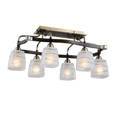 Citilux Каппа CL150161 Люстра потолочнаяПотолочные<br>Выбирая современное и стильное освещение, обратите внимание на потолочную люстру Citilux CL150161, которая соответствует всем требованиям универсального и в тоже время модного изделия. Хромированная конструкция светильника представлена в оттенках серебристого и темно-коричневого. Эти цвета чудесным образом дополняют друг друга, создавая уникальный тандем. Шесть плафонов созданы в белоснежном оттенке, интересно преподнесённом благодаря декоративной отделке стекла. Потолочная люстра Citilux CL150161 представлена в элегантной форме и лаконичных размерах. Таким образом легко украсить даже небольшие помещения, что очень выгодно и удобно в вопросах декорирования современных интерьеров. Потолочная люстра Citilux CL150161 – это элегантный дизайн и лаконичность сияния в поистине модном стиле модерн!<br><br>Установка на натяжной потолок: Да<br>S освещ. до, м2: 24<br>Крепление: Планка<br>Тип лампы: накаливания / энергосбережения / LED-светодиодная<br>Тип цоколя: E14<br>Цвет арматуры: бронзовый<br>Количество ламп: 6<br>Ширина, мм: 620<br>Размеры: Габариты 40х62см, Высота 27см, Литое стекло с частичным матированием, с выключателем<br>Длина, мм: 400<br>Высота, мм: 270<br>Поверхность арматуры: глянцевый<br>Оттенок (цвет): белый<br>MAX мощность ламп, Вт: 60