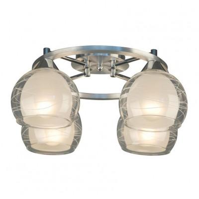 Citilux Буги CL157142 Люстра потолочнаяПотолочные<br>Компания «Светодом» предлагает широкий ассортимент люстр от известных производителей. Представленные в нашем каталоге товары выполнены из современных материалов и обладают отличным качеством. Благодаря широкому ассортименту Вы сможете найти у нас люстру под любой интерьер. Мы предлагаем как классические варианты, так и современные модели, отличающиеся лаконичностью и простотой форм.   Стильная люстра Citilux CL157142 станет украшением любого дома. Эта модель от известного производителя не оставит равнодушным ценителей красивых и оригинальных предметов интерьера. Люстра Citilux CL157142 обеспечит равномерное распределение света по всей комнате. При выборе обратите внимание на характеристики, позволяющие приобрести наиболее подходящую модель.   Купить понравившуюся люстру по доступной цене Вы можете в интернет-магазине «Светодом».<br><br>Установка на натяжной потолок: Да<br>S освещ. до, м2: 20<br>Крепление: Планка<br>Тип лампы: накаливания / энергосбережения / LED-светодиодная<br>Тип цоколя: E27<br>Количество ламп: 4<br>MAX мощность ламп, Вт: 75<br>Диаметр, мм мм: 400<br>Размеры: Габариты 40х39,5 см, высота 19,5 см.<br>Высота, мм: 200<br>Оттенок (цвет): белый<br>Цвет арматуры: серебристый
