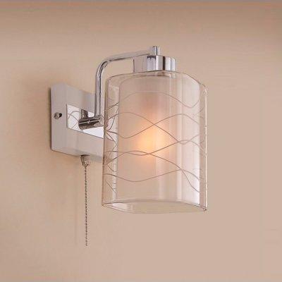 Citilux Румба CL159310 Светильник настенный браСовременные<br><br><br>S освещ. до, м2: 5<br>Тип лампы: накаливания / энергосбережения / LED-светодиодная<br>Тип цоколя: E27<br>Цвет арматуры: серебристый<br>Количество ламп: 1<br>Ширина, мм: 150<br>Расстояние от стены, мм: 180<br>Высота, мм: 250<br>Поверхность арматуры: глянцевый, матовый<br>MAX мощность ламп, Вт: 75