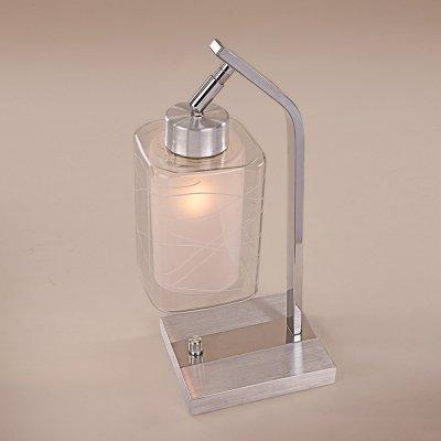 Citilux Румба CL159812 Настольная лампаСовременные<br>Настольная лампа – это не просто источник дополнительного освещения, но и оригинальный элемент декора. Его можно установить в спальне, гостиной, кабинете и других комнатах. Интернет-магазин «Светодом» предлагает настольные лампы разных стилей по доступным ценам. Благодаря большому ассортименту Вы обязательно найдете в нашем каталоге именно ту модель, которую искали.   Настольная лампа Citilux CL159812 – прекрасный вариант для завершения интерьера. Ее можно включить одновременно с люстрой для более яркого освещения или без нее для создания уютной атмосферы, настраивающей на отдых.   Купить настольную лампу Citilux CL159812 Вы можете с помощью виртуальной «Корзины» или по контактным номерам, указанным на сайте.<br><br>S освещ. до, м2: 5<br>Тип лампы: накаливания / энергосбережения / LED-светодиодная<br>Тип цоколя: E27<br>Количество ламп: 1<br>Ширина, мм: 180<br>MAX мощность ламп, Вт: 75<br>Длина, мм: 180<br>Высота, мм: 300<br>Поверхность арматуры: глянцевый<br>Цвет арматуры: серебристый хром, алюминий