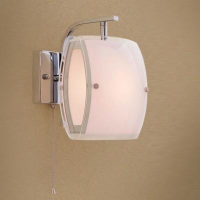 Citilux Берген CL161311 Светильник настенный браХай-тек<br><br><br>Тип лампы: Накаливания / энергосбережения / светодиодная<br>Тип цоколя: E27<br>Количество ламп: 1<br>Ширина, мм: 180<br>MAX мощность ламп, Вт: 75<br>Размеры: Ширина 18см, Высота  21см, Глубина 18см, С выключателем<br>Длина, мм: 180<br>Высота, мм: 210<br>Цвет арматуры: серебристый
