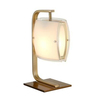 CL161813 Берген Бронза Св-к НастольныйСовременные настольные лампы модерн<br><br><br>Тип лампы: Накаливания / Светодиодные / Компактные люмин.<br>Тип цоколя: E27<br>Цвет арматуры: Бронза<br>Количество ламп: 1<br>Поверхность арматуры: Блестящая<br>MAX мощность ламп, Вт: 75<br>Общая мощность, Вт: 75