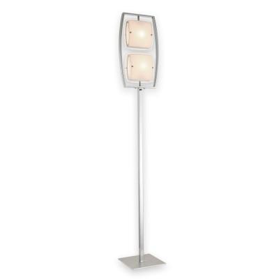 CL161921 Берген Хром ТоршерСовременные<br><br><br>Тип лампы: Накаливания / Светодиодные / Компактные люмин.<br>Тип цоколя: E27<br>Цвет арматуры: Хром<br>Количество ламп: 2<br>Ширина, мм: 240<br>Высота полная, мм: 1640<br>Длина, мм: 290<br>Поверхность арматуры: Блестящая<br>MAX мощность ламп, Вт: 75<br>Общая мощность, Вт: 150