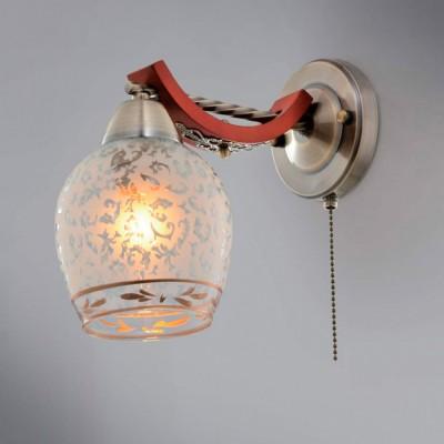 Citilux CL165313 Светильник настенный браМодерн<br><br><br>S освещ. до, м2: 4<br>Тип товара: Светильник настенный бра<br>Тип лампы: накаливания / энергосбережения / LED-светодиодная<br>Тип цоколя: E14<br>Количество ламп: 1<br>Ширина, мм: 130<br>MAX мощность ламп, Вт: 60<br>Размеры: Ширина 13см, Высота 22см, Глубина 24см, с выключателем<br>Расстояние от стены, мм: 240<br>Высота, мм: 220<br>Поверхность арматуры: глянцевый, матовый, рельефный<br>Цвет арматуры: бронзовый, коричневый