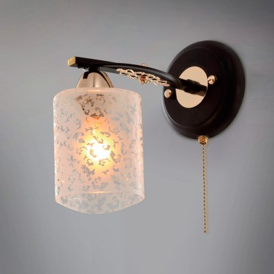 Citilux CL166311 Светильник настенный браСовременные<br><br><br>S освещ. до, м2: 4<br>Тип лампы: накаливания / энергосбережения / LED-светодиодная<br>Тип цоколя: E14<br>Количество ламп: 1<br>Ширина, мм: 130<br>MAX мощность ламп, Вт: 60<br>Размеры: Ширина 13см, Высота 22см, Глубина 21см, с выключателем<br>Длина, мм: 210<br>Высота, мм: 220<br>Цвет арматуры: черный