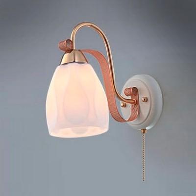 Citilux CL167311 Светильник настенный браСовременные<br><br><br>S освещ. до, м2: 5<br>Тип лампы: накаливания / энергосбережения / LED-светодиодная<br>Тип цоколя: E27<br>Количество ламп: 1<br>Ширина, мм: 130<br>MAX мощность ламп, Вт: 75<br>Размеры: Ширина 13см, Высота 22см, Глубина 24см, с выключателем<br>Расстояние от стены, мм: 240<br>Высота, мм: 220<br>Поверхность арматуры: глянцевый, матовый<br>Цвет арматуры: белый, золотой