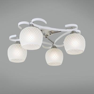 CL171141 Citilux СЮЗИПотолочные<br><br><br>Установка на натяжной потолок: Да<br>S освещ. до, м2: 15<br>Тип лампы: Накаливания / энергосбережения / светодиодная<br>Тип цоколя: E27<br>Количество ламп: 4<br>Ширина, мм: 470<br>MAX мощность ламп, Вт: 75<br>Длина, мм: 470<br>Высота, мм: 240