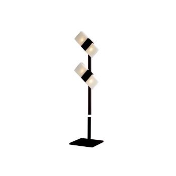 Citilux Сага CL212945 Торшер венгеХай-тек<br>Также рекомендуем посмотреть другие торшеры из серии Сага. Торшер CL212945 Ситилюкс - Дания из серии Сага - отличная возможность украсить любое пространство или помещение. Хотите купить торшеры? Обратите внимание на соответсвующий каталог нашего сайта.<br><br>S освещ. до, м2: 16<br>Тип лампы: галогенная / LED-светодиодная<br>Тип цоколя: G9<br>Количество ламп: 4<br>MAX мощность ламп, Вт: 60<br>Размеры: Матовое молочнобелое стекло, Плафоны на вращающемся шарнире, Высота 170см. Лампы G9 приложены.<br>Высота, мм: 1700<br>Оттенок (цвет): венге<br>Цвет арматуры: серебристый хром, венге