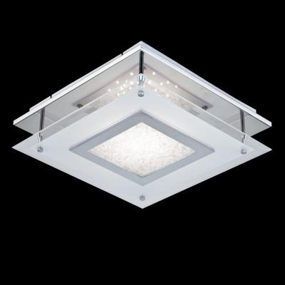 Светильник Maytoni CL214-11-RПотолочные<br>Компания «Светодом» предлагает широкий ассортимент люстр от известных производителей. Представленные в нашем каталоге товары выполнены из современных материалов и обладают отличным качеством. Благодаря широкому ассортименту Вы сможете найти у нас люстру под любой интерьер. Мы предлагаем как классические варианты, так и современные модели, отличающиеся лаконичностью и простотой форм.  Стильная люстра Maytoni CL214-11-R станет украшением любого дома. Эта модель от известного производителя не оставит равнодушным ценителей красивых и оригинальных предметов интерьера. Люстра Maytoni CL214-11-R обеспечит равномерное распределение света по всей комнате. При выборе обратите внимание на характеристики, позволяющие приобрести наиболее подходящую модель. Купить понравившуюся люстру по доступной цене Вы можете в интернет-магазине «Светодом».<br><br>Установка на натяжной потолок: Да<br>S освещ. до, м2: 8<br>Крепление: Планка<br>Тип лампы: LED<br>Тип цоколя: LED<br>Количество ламп: 1<br>Ширина, мм: 420<br>MAX мощность ламп, Вт: 20<br>Длина, мм: 420<br>Высота, мм: 94<br>Цвет арматуры: серебристый