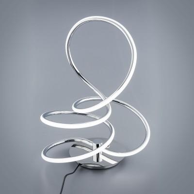 Citilux CL224811 Настольная лампаХай тек<br><br><br>Цветовая t, К: 3000<br>Тип лампы: LED<br>Ширина, мм: 220<br>MAX мощность ламп, Вт: 26<br>Длина, мм: 340<br>Высота, мм: 440<br>Цвет арматуры: серебристый