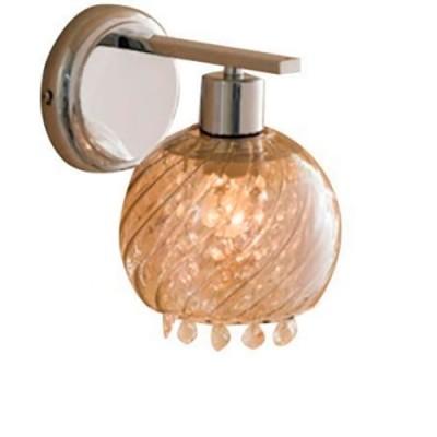 Citilux Бейт CL317311 Светильник настенный браХрустальные<br><br><br>S освещ. до, м2: 4<br>Тип лампы: накаливания / энергосбережения / LED-светодиодная<br>Тип цоколя: E27<br>Цвет арматуры: серебристый хром<br>Количество ламп: 1<br>Ширина, мм: 150<br>Размеры: Высота 24см, Ширина 15см, Глубина 20см, Хрусталь за дымчатым стеклом<br>Длина, мм: 200<br>Высота, мм: 240<br>Поверхность арматуры: глянцевый<br>Оттенок (цвет): дымчатый, прозрачный<br>MAX мощность ламп, Вт: 60