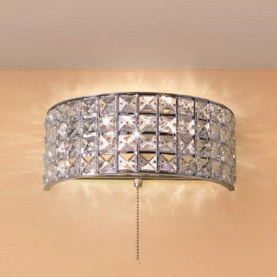 Citilux Портал CL324301 Светильник настенный брахрустальные бра<br><br><br>Тип лампы: Накаливания / энергосбережения / светодиодная<br>Тип цоколя: E14<br>Цвет арматуры: серебристый хром<br>Количество ламп: 2<br>Ширина, мм: 120<br>Размеры: Ширина 26см, Высота 11см, Глубина 12см, Обечайка с хрусталем марки K9, С выключателем<br>Длина, мм: 260<br>Высота, мм: 110<br>MAX мощность ламп, Вт: 60