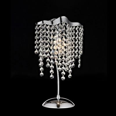 Citilux Рита CL325811 Настольная лампаХрустальные<br>Настольная лампа – это не просто источник дополнительного освещения, но и оригинальный элемент декора. Его можно установить в спальне, гостиной, кабинете и других комнатах. Интернет-магазин «Светодом» предлагает настольные лампы разных стилей по доступным ценам. Благодаря большому ассортименту Вы обязательно найдете в нашем каталоге именно ту модель, которую искали.   Настольная лампа Citilux Рита CL325811 Настольная лампа – прекрасный вариант для завершения интерьера. Ее можно включить одновременно с люстрой для более яркого освещения или без нее для создания уютной атмосферы, настраивающей на отдых.   Купить настольную лампу Citilux Рита CL325811 Настольная лампа Вы можете с помощью виртуальной «Корзины» или по контактным номерам, указанным на сайте.<br><br>Тип лампы: галогенная / LED-светодиодная<br>Тип цоколя: G9<br>Количество ламп: 1<br>Ширина, мм: 200<br>MAX мощность ламп, Вт: 60<br>Размеры: Высота 35см,  Габариты 20х14см, Диаметр основания 13см<br>Длина, мм: 140<br>Высота, мм: 350<br>Цвет арматуры: серебристый хром