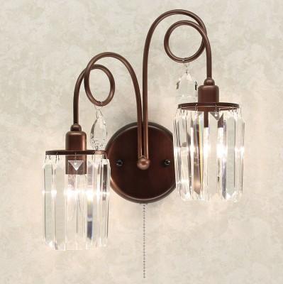 Citilux CL330323 СветильникХрустальные<br><br><br>Тип лампы: Накаливания / энергосбережения / светодиодная<br>Тип цоколя: E14<br>Количество ламп: 2<br>Ширина, мм: 380<br>MAX мощность ламп, Вт: 60<br>Высота, мм: 400