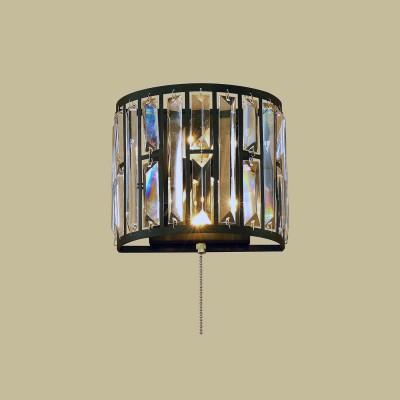 Citilux Гермес CL331321 Светильник настенный браМодерн<br><br><br>Тип цоколя: E14<br>Количество ламп: 2<br>Ширина, мм: 200<br>MAX мощность ламп, Вт: 60W<br>Расстояние от стены, мм: 125<br>Высота, мм: 177