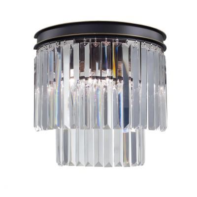 Citilux CL332321 Мартин Светильник БраХрустальные<br><br><br>Тип лампы: Накаливания / энергосбережения / светодиодная<br>Тип цоколя: E14<br>Количество ламп: 1<br>Диаметр, мм мм: 350<br>Расстояние от стены, мм: 180<br>Высота, мм: 330<br>MAX мощность ламп, Вт: 60