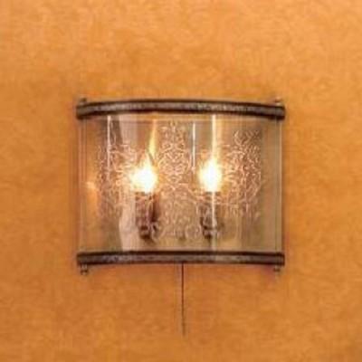 Citilux Версаль CL408323R Светильник настенный браРустика<br>Элегантный настенный светильник Citilux CL408323R Версаль всегда будет привлекать к себе восхищенные взгляды Ваших гостей! Выполненный в стиле «рустика», он выглядит оригинально и эффектно. Две лампочки-«свечки» «спрятаны» в полупрозрачном стеклянном плафоне, украшенном «растительным» рисунком, что в совокупности создает «загадочный» и «романтичный» образ, который идеально дополнит общее направление дизайна комнаты. Бра может служить не только в качестве подсветки, но и самостоятельным элементом декора. Чтобы интерьер выглядел гармоничным, стильным и уютным, рекомендуем Вам использовать светильник в комплекте из нескольких экземпляров, а также люстрой этой же серии.<br><br>S освещ. до, м2: 8<br>Тип лампы: накаливания / энергосбережения / LED-светодиодная<br>Тип цоколя: E14<br>Количество ламп: 2<br>Ширина, мм: 330<br>MAX мощность ламп, Вт: 60<br>Размеры: Ширина 33см, Высота 29см, Глубина 12см<br>Расстояние от стены, мм: 120<br>Высота, мм: 290<br>Поверхность арматуры: глянцевый, рельефный<br>Цвет арматуры: бронзовый, венге