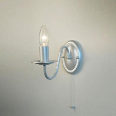 Citilux CL426311 Светильник настенный браКлассические<br><br><br>Количество ламп: 1<br>Размеры: Ширина 12см, Высота 19см, Глубина 22см, Краска с перламутровым эффектом, с выключателем<br>Поверхность арматуры: глянцевый<br>Цвет арматуры: белый