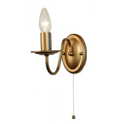 Citilux CL426312 Светильник настенный браКлассические<br><br><br>Цвет арматуры: Золотой<br>Поверхность арматуры: глянцевый