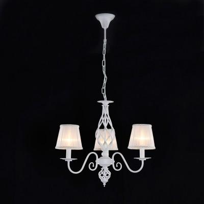 Citilux Ровена CL427130 ЛюстраПодвесные<br><br><br>Установка на натяжной потолок: Да<br>S освещ. до, м2: 9<br>Крепление: Крюк<br>Тип товара: Люстра<br>Тип лампы: накаливания / энергосбережения / LED-светодиодная<br>Тип цоколя: E14<br>Количество ламп: 3<br>MAX мощность ламп, Вт: 60<br>Диаметр, мм мм: 650<br>Длина цепи/провода, мм: 330<br>Высота, мм: 650<br>Цвет арматуры: белый