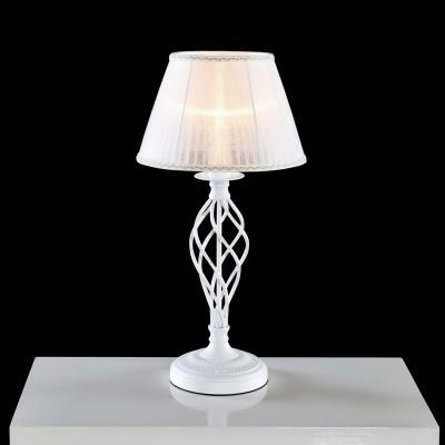 Citilux Ровена CL427810 Настольная лампаКлассические<br>Настольная лампа – это не просто источник дополнительного освещения, но и оригинальный элемент декора. Его можно установить в спальне, гостиной, кабинете и других комнатах. Интернет-магазин «Светодом» предлагает настольные лампы разных стилей по доступным ценам. Благодаря большому ассортименту Вы обязательно найдете в нашем каталоге именно ту модель, которую искали. <br> Настольная лампа Citilux CL427810 – прекрасный вариант для завершения интерьера. Ее можно включить одновременно с люстрой для более яркого освещения или без нее для создания уютной атмосферы, настраивающей на отдых. <br> Купить настольную лампу Citilux CL427810 Вы можете с помощью виртуальной «Корзины» или по контактным номерам, указанным на сайте.<br><br>Тип лампы: накаливания / энергосбережения / LED-светодиодная<br>Тип цоколя: E27<br>Цвет арматуры: Белый<br>Количество ламп: 1<br>Диаметр, мм мм: 300<br>Высота, мм: 600<br>MAX мощность ламп, Вт: 75