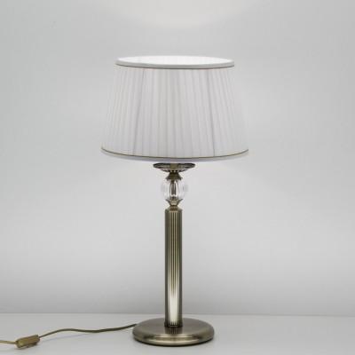 Citilux Гера CL433813 Настольная лампаКлассические<br>Настольная лампа – это не просто источник дополнительного освещения, но и оригинальный элемент декора. Его можно установить в спальне, гостиной, кабинете и других комнатах. Интернет-магазин «Светодом» предлагает настольные лампы разных стилей по доступным ценам. Благодаря большому ассортименту Вы обязательно найдете в нашем каталоге именно ту модель, которую искали.   Настольная лампа Citilux CL433813 – прекрасный вариант для завершения интерьера. Ее можно включить одновременно с люстрой для более яркого освещения или без нее для создания уютной атмосферы, настраивающей на отдых.   Купить настольную лампу Citilux CL433813 Вы можете с помощью виртуальной «Корзины» или по контактным номерам, указанным на сайте.<br><br>Тип лампы: накаливания / энергосбережения / LED-светодиодная<br>Тип цоколя: E27<br>Количество ламп: 1<br>MAX мощность ламп, Вт: 75<br>Диаметр, мм мм: 320<br>Высота, мм: 610<br>Цвет арматуры: бронзовый
