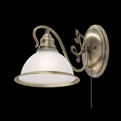 Светильник бра CL434311 Citilux ИДАЛЬГОклассические бра<br><br><br>Тип лампы: Накаливания / энергосбережения / светодиодная<br>Тип цоколя: E27<br>Количество ламп: 1<br>MAX мощность ламп, Вт: 75
