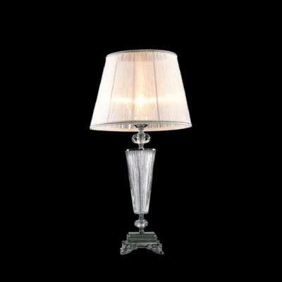 Citilux Медея CL436811 Настольная лампаКлассические<br><br><br>Тип лампы: накаливания / энергосбережения / LED-светодиодная<br>Тип цоколя: E27<br>Количество ламп: 1<br>MAX мощность ламп, Вт: 75<br>Диаметр, мм мм: 330<br>Высота, мм: 620<br>Цвет арматуры: Хром