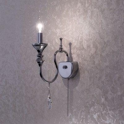 Citilux Рига CL437311 Светильник настенный браКлассика<br><br><br>Тип лампы: Накаливания / энергосбережения / светодиодная<br>Тип цоколя: E14<br>Количество ламп: 1<br>Ширина, мм: 200<br>MAX мощность ламп, Вт: 60<br>Длина, мм: 230<br>Высота, мм: 125