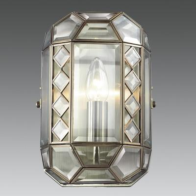 Citilux Фасет CL441310 Светильник настенный браклассические бра<br><br><br>Тип лампы: Накаливания / энергосбережения / светодиодная<br>Тип цоколя: E14<br>Цвет арматуры: бронзовый<br>Количество ламп: 1<br>MAX мощность ламп, Вт: 60