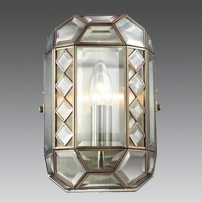 Citilux Фасет CL441311 Светильник настенный браКлассические<br><br><br>Тип лампы: Накаливания / энергосбережения / светодиодная<br>Тип цоколя: E14<br>Количество ламп: 1<br>MAX мощность ламп, Вт: 60<br>Цвет арматуры: бронзовый