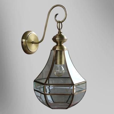 Citilux Гера-1 CL444310 Светильник настенный браКлассика<br><br><br>Тип лампы: Накаливания / энергосбережения / светодиодная<br>Тип цоколя: E27<br>Количество ламп: 1<br>Ширина, мм: 280<br>MAX мощность ламп, Вт: 75<br>Длина, мм: 250<br>Высота, мм: 400<br>Цвет арматуры: бронзовый