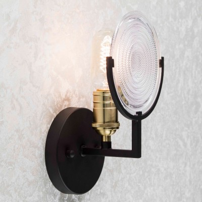 Citilux Тесла CL445311 Светильник настенный браМорской стиль<br><br><br>Тип товара: Светильник настенный бра<br>Тип лампы: накаливания / энергосбережения / LED-светодиодная<br>Тип цоколя: E27<br>Количество ламп: 1<br>Ширина, мм: 110<br>MAX мощность ламп, Вт: 75<br>Длина, мм: 154<br>Высота, мм: 250