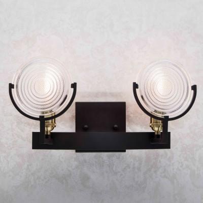 Citilux Тесла CL445321 Светильник настенный браМорской стиль<br><br><br>Тип лампы: накаливания / энергосбережения / LED-светодиодная<br>Тип цоколя: E27<br>Количество ламп: 2<br>Ширина, мм: 136<br>MAX мощность ламп, Вт: 75<br>Длина, мм: 425<br>Высота, мм: 215