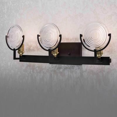 Citilux Тесла CL445331 Светильник настенный браМорской стиль<br><br><br>Тип лампы: накаливания / энергосбережения / LED-светодиодная<br>Тип цоколя: E27<br>Количество ламп: 3<br>Ширина, мм: 150<br>MAX мощность ламп, Вт: 75<br>Длина, мм: 660<br>Высота, мм: 215