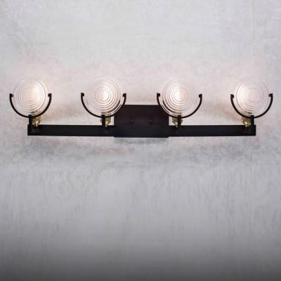 Citilux Тесла CL445341 Светильник настенный браМорской стиль<br><br><br>Тип лампы: накаливания / энергосбережения / LED-светодиодная<br>Тип цоколя: E27<br>Количество ламп: 4<br>Ширина, мм: 170<br>MAX мощность ламп, Вт: 75<br>Длина, мм: 900<br>Высота, мм: 215