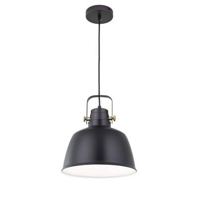 CL448213 Citilux СПЕНСЕРодиночные подвесные светильники<br><br><br>S освещ. до, м2: 4<br>Тип лампы: Накаливания / энергосбережения / светодиодная<br>Тип цоколя: E27<br>Количество ламп: 1<br>Диаметр, мм мм: 280<br>Высота, мм: 400 - 1200<br>MAX мощность ламп, Вт: 75