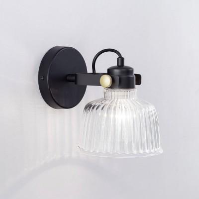 CL448311Одиночные<br><br><br>S освещ. до, м2: 4<br>Тип лампы: Накаливания / энергосбережения / светодиодная<br>Тип цоколя: E27<br>Количество ламп: 1<br>Ширина, мм: 210<br>Длина, мм: 150<br>Высота, мм: 180<br>MAX мощность ламп, Вт: 75
