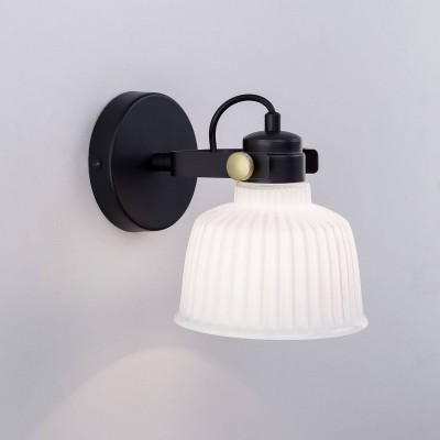 CL448312Одиночные<br><br><br>Тип лампы: Накаливания / энергосбережения / светодиодная<br>Тип цоколя: E27<br>Количество ламп: 1<br>Ширина, мм: 210<br>MAX мощность ламп, Вт: 75<br>Длина, мм: 150<br>Высота, мм: 180