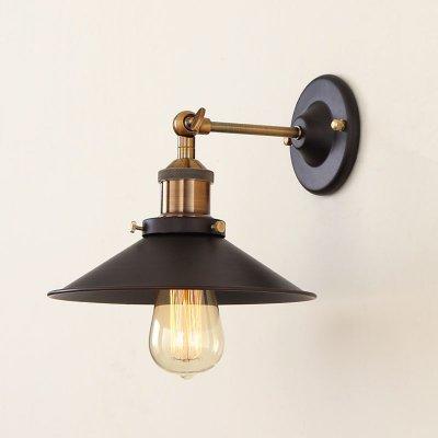 Citilux CL450301 Светильник настенный браМорской стиль<br><br><br>S освещ. до, м2: 4<br>Тип лампы: накал-я - энергосбер-я<br>Тип цоколя: E27<br>Цвет арматуры: бронзовый, коричневый<br>Количество ламп: 1<br>Ширина, мм: 220<br>Расстояние от стены, мм: 260<br>Высота, мм: 400<br>MAX мощность ламп, Вт: 60