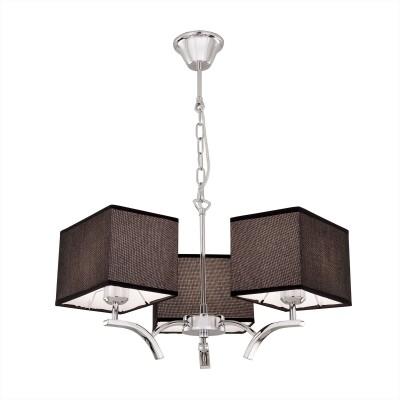 Citilux Эвора Квадро CL460232 Люстра подвеснаяПодвесные<br><br><br>Установка на натяжной потолок: Да<br>S освещ. до, м2: 11<br>Тип лампы: накаливания / энергосбережения / LED-светодиодная<br>Тип цоколя: E27<br>Количество ламп: 3<br>MAX мощность ламп, Вт: 75<br>Диаметр, мм мм: 550<br>Высота, мм: 1200<br>Цвет арматуры: серебристый