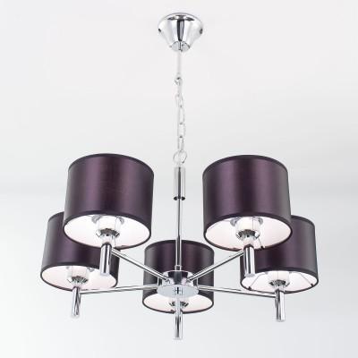 Citilux CL463151 Аврора Люстра подвеснаясовременные подвесные люстры модерн<br><br><br>S освещ. до, м2: 18<br>Крепление: Крюк<br>Тип лампы: накаливания / энергосбережения / LED-светодиодная<br>Тип цоколя: E27<br>Цвет арматуры: серебристый<br>Количество ламп: 5<br>Поверхность арматуры: глянцевый<br>Оттенок (цвет): серебристый<br>MAX мощность ламп, Вт: 75