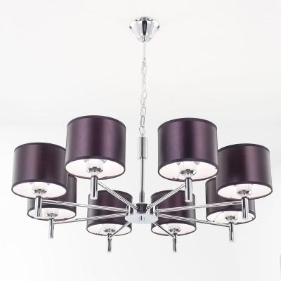 Citilux CL463181 Аврора Люстра подвеснаясовременные подвесные люстры модерн<br><br><br>S освещ. до, м2: 30<br>Крепление: Крюк<br>Тип лампы: накаливания / энергосбережения / LED-светодиодная<br>Тип цоколя: E27<br>Цвет арматуры: серебристый<br>Количество ламп: 8<br>Поверхность арматуры: глянцевый<br>Оттенок (цвет): серебристый<br>MAX мощность ламп, Вт: 75