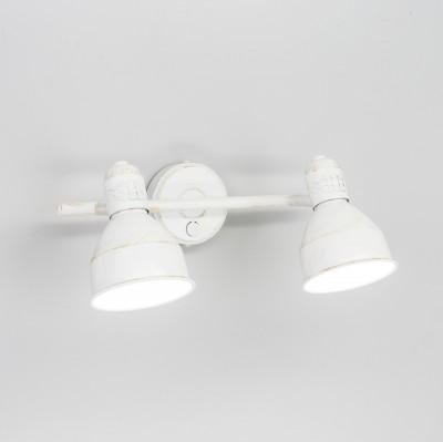 Citilux Опус CL502523 Светильник поворотный спотдвойные светильники споты<br><br><br>S освещ. до, м2: 6<br>Крепление: Планка<br>Тип лампы: Накаливания / энергосбережения / светодиодная<br>Тип цоколя: E14<br>Цвет арматуры: белый<br>Количество ламп: 2<br>Поверхность арматуры: матовый<br>Оттенок (цвет): белый<br>MAX мощность ламп, Вт: 60