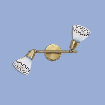 Citilux Афина CL507523 Светильник поворотный спотДвойные<br>Также рекомендуем посмотреть другие споты и трек-системы из серии Афина. Спот CL507523 Citilux - Дания из серии Афина - отличная возможность украсить любое пространство или помещение.<br><br>S освещ. до, м2: 8<br>Тип товара: Светильник поворотный спот<br>Тип лампы: накал-я - энергосбер-я<br>Тип цоколя: E14<br>Количество ламп: 2<br>Ширина, мм: 400<br>MAX мощность ламп, Вт: 60<br>Размеры: С выключателем, Ширина 40см, Глубина 15см, Размер головки 12см.<br>Расстояние от стены, мм: 150<br>Поверхность арматуры: матовый<br>Цвет арматуры: бронзовый