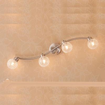 Citilux Юджин CL521541 Светильник поворотный спотС 4 лампами<br>Светильники-споты – то оригинальные издели с современным дизайном. Они позволт не ограничивать сво фантази при выборе освещени дл интерьера. Такие модели обеспечиват достаточно качественный свет. Благодар компактным размерам Вы можете использовать несколько спотов дл одного помещени.  Интернет-магазин «Светодом» предлагает необычный светильник-спот Citilux CL521541 по привлекательной цене. Эта модель станет отличным дополнением к лстре, выполненной в том же стиле. Перед оформлением заказа изучите характеристики издели.  Купить светильник-спот Citilux CL521541 в нашем онлайн-магазине Вы можете либо с помощь формы на сайте, либо по указанным выше телефонам. Обратите внимание, что мы предлагаем доставку не только по Москве и Екатеринбургу, но и всем остальным российским городам.<br><br>S освещ. до, м2: 10<br>Крепление: планка<br>Тип лампы: галогенна / LED-светодиодна<br>Тип цокол: G9<br>Количество ламп: 4<br>MAX мощность ламп, Вт: 40<br>Размеры: Ширина 70 см. Глубина 15 см.<br>Длина, мм: 700<br>Высота, мм: 150<br>Поверхность арматуры: сатин<br>Цвет арматуры: серебристый
