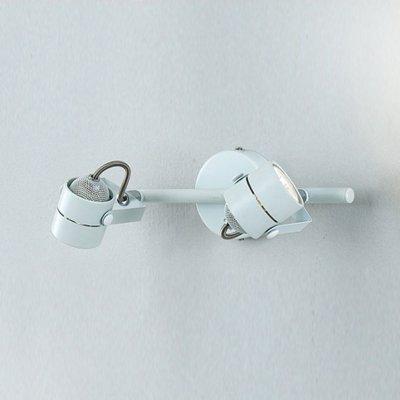 Citilux CL525520 Светильник поворотный спотДвойные<br><br><br>S освещ. до, м2: 6<br>Тип товара: Светильник поворотный спот<br>Тип лампы: галогенная / LED-светодиодная<br>Тип цоколя: GU10<br>Количество ламп: 2<br>Ширина, мм: 320<br>MAX мощность ламп, Вт: 50<br>Размеры: Диаметр основания 10см, Трубка 32см, Размер головки 8см<br>Высота, мм: 80<br>Поверхность арматуры: глянцевый<br>Цвет арматуры: белый