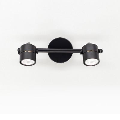 CL525522 Citilux РИНГДвойные<br><br><br>Тип лампы: галогенная/LED<br>Тип цоколя: GU10<br>Количество ламп: 2<br>Ширина, мм: 170<br>MAX мощность ламп, Вт: 50<br>Длина, мм: 320<br>Высота, мм: 100