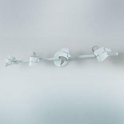 Citilux CL525540 Светильник поворотный спотС 4 лампами<br><br><br>S освещ. до, м2: 13<br>Тип товара: Светильник поворотный спот<br>Тип лампы: галогенная / LED-светодиодная<br>Тип цоколя: GU10<br>Количество ламп: 4<br>Ширина, мм: 560<br>MAX мощность ламп, Вт: 50<br>Размеры: Диаметр основания 10см, Трубка 56см, Размер головки 8см<br>Высота, мм: 80
